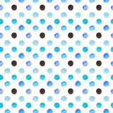 Abstract beautiful artistic tender wonderful transparent bright blue navy indigo turquoise ultramarine and chocolate circles diago Stock Photo