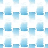 Abstract beautiful artistic tender wonderful transparent bright summer blue spots pattern watercolor hand illustration. Perfect for textile, wallpapers, and Royalty Free Stock Image