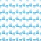 Abstract beautiful artistic tender wonderful transparent bright summer blue spots pattern watercolor hand illustration. Perfect for textile, wallpapers, and Stock Photography