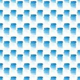 Abstract beautiful artistic tender wonderful transparent bright summer blue spots pattern watercolor hand illustration. Perfect for textile, wallpapers, and Stock Photo