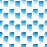Abstract beautiful artistic tender wonderful transparent bright summer blue spots pattern watercolor hand illustration. Perfect for textile, wallpapers, and Stock Image