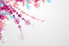 Abstract 19. Beautiful background with bright colors Royalty Free Stock Images