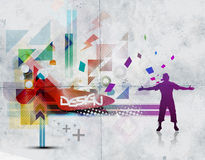 Abstract beautiful background design Stock Photo