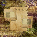 Abstract beautiful background in the style of mixed media Stock Photo
