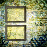 Abstract beautiful background in the style of mixed media Stock Image