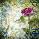 Abstract beautiful background in the style of mixed media Stock Images