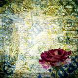 Abstract beautiful background in the style of mixed media Stock Photos