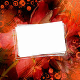 Abstract beautiful background in the style of mixed media Royalty Free Stock Photography