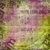 Abstract beautiful background in the style of mixed media Royalty Free Stock Image
