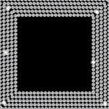 Abstract beautiful black diamond background vector Royalty Free Stock Photos