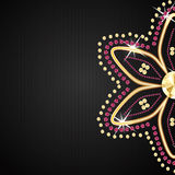 Abstract beautiful black diamond background vector Royalty Free Stock Photo