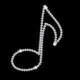 Abstract beautiful black Diamond Music Note vector Royalty Free Stock Photos