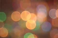 Abstract beautiful blurred circular bokeh lights Royalty Free Stock Photos