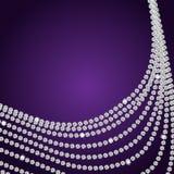 Abstract beautiful diamond background vector Royalty Free Stock Photos
