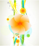 Abstract beautiful flower background Stock Photography