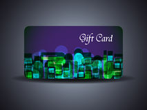 Abstract beautiful gift card design. Vector illustration of abstract beautiful gift card design Royalty Free Stock Photos