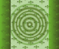 Abstract Beautiful Green Floral Background Royalty Free Stock Photos
