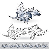 Abstract beautiful leaf Royalty Free Stock Photography
