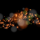 Abstract beautiful light background with many brightness. Royalty Free Stock Images
