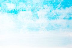 Abstract beautiful light blue watercolor and texture  on Royalty Free Stock Photo