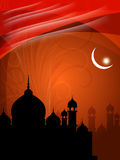 Abstract beautiful spiritual eid background Stock Photo