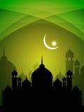 Abstract beautiful spiritual eid background Royalty Free Stock Photos