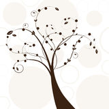 Abstract beautiful tree creative design Royalty Free Stock Photos