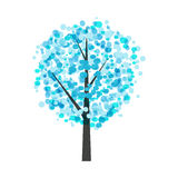 Abstract Beautiful Winter Tree Background Vector Illustration Royalty Free Stock Images