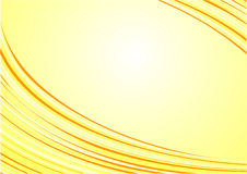 Abstract beautiful yellow waves background.sunny.s Stock Image