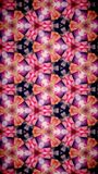 Abstract Beautify Flower bokeh pattern background. Royalty Free Stock Images