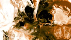 Abstract beauty of art ink paint explode colorful fantasy spread. Video stock video footage