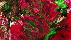 Abstract beauty of art ink paint explode colorful fantasy spread. Video stock footage