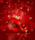 Abstract beauty Christmas and New Year background. Stock Photos