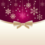 Abstract beauty Christmas and New Year background. Royalty Free Stock Photography