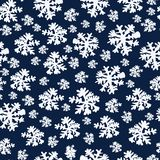 Abstract Beauty Christmas and New Year Background with Snow and Snowflakes. Vector Illustration. EPS10 stock illustration