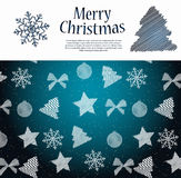 Abstract beauty Christmas and New Year background. Stock Images