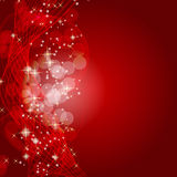 Abstract beauty Christmas and New Year background. Vector illustration Stock Photo