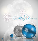 Abstract beauty Christmas and New Year background. Vector illustration Stock Image