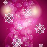 Abstract beauty Christmas and New Year background. Vector illustration stock illustration