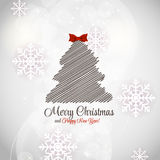 Abstract Beauty Christmas and New Year Background. Vector Illustration vector illustration