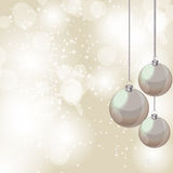 Abstract beauty Christmas and New Year background. Vector illustration Royalty Free Stock Images