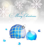Abstract beauty Christmas and New Year background. Vector Illustration Royalty Free Stock Image