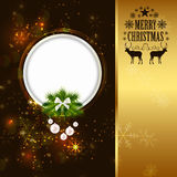 Abstract Beauty Christmas and New Year Background Royalty Free Stock Photo