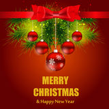 Abstract Beauty Christmas and New Year Background Stock Photos