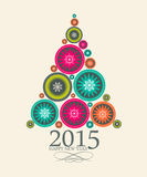 Abstract Beauty Christmas 2015 and New Year. Background. Vector Illustration. EPS10 Stock Images