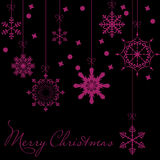 Abstract Beauty Christmas and New Year Background Stock Image