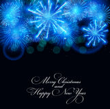 Abstract beauty Christmas and New Year background. Vector Illustration EPS10 Stock Image