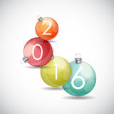 Abstract beauty Christmas and New Year background. Vector Illustration EPS10 Royalty Free Stock Image