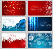Abstract beauty Christmas and New Year background. Vector Illustration EPS10 Royalty Free Stock Photo