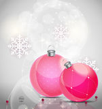 Abstract beauty Christmas and New Year background. Vector Illustration EPS10 Royalty Free Stock Photography
